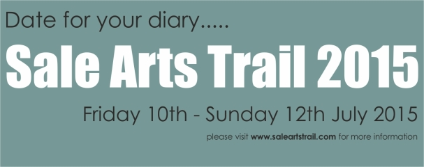 Sale Arts Trail 2015 - facebook announcement banner