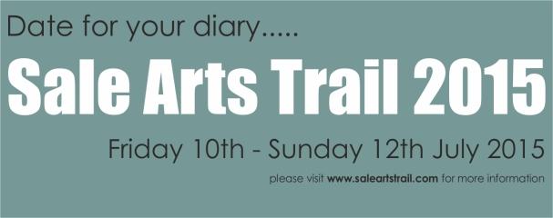 Sale Arts Trail 2015 - facebook announcement banner